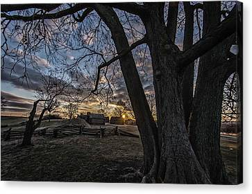 Morning At Valley Forge Canvas Print by Jeff Oates Photography