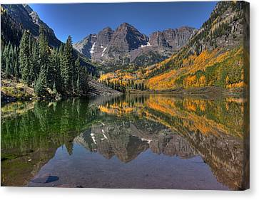 Crystal Colorado Canvas Print - Morning Bells by Ryan Smith