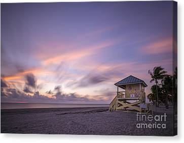 Miami Canvas Print - Morning Bliss by Evelina Kremsdorf