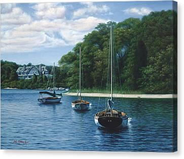 Morning Blue - Cape Cod Canvas Print