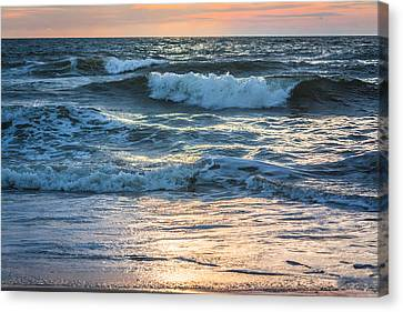 Morning Breakers Canvas Print