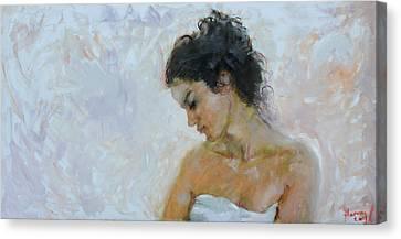 Morning Breeze Canvas Print by Ylli Haruni