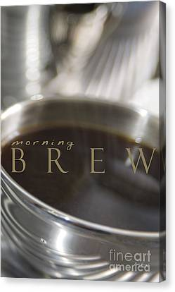 Canvas Print featuring the photograph Morning Brew by Vicki Ferrari