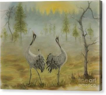 Harmonious Canvas Print - Morning Call by Veikko Suikkanen
