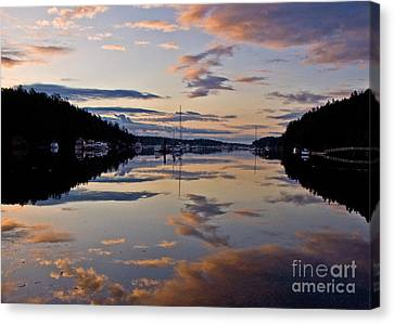 Morning Calm Canvas Print by Chuck Flewelling