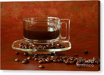 Morning Coffee Canvas Print by Inspired Nature Photography Fine Art Photography
