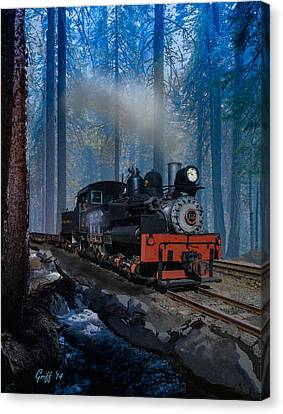 Morning Comes Too Soon Canvas Print by J Griff Griffin
