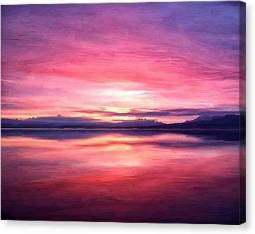 Morning Dawn Canvas Print by Michael Pickett