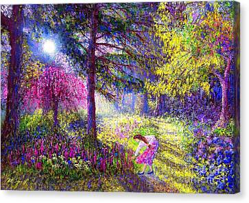 Morning Dew Canvas Print by Jane Small