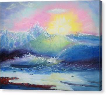 Morning Canvas Print by Elena Sokolova