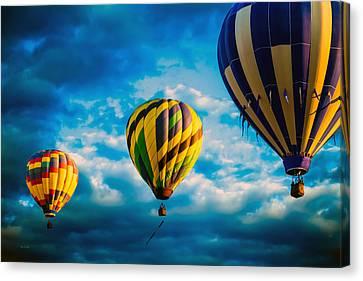 Canvas Print - Morning Flight Hot Air Balloons by Bob Orsillo