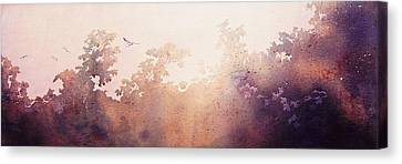 Morning Flight Canvas Print by John  Svenson
