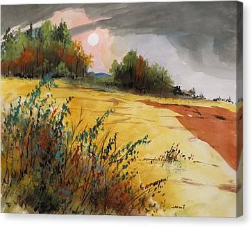 Morning Fragrance Canvas Print by John Williams