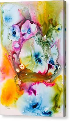 Morning Glory Canvas Print by Nancy Jolley