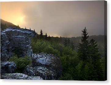 Morning Glow Canvas Print by Michael Donahue