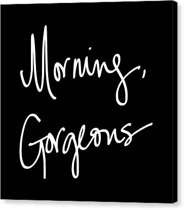 Morning Gorgeous Canvas Print by South Social Studio