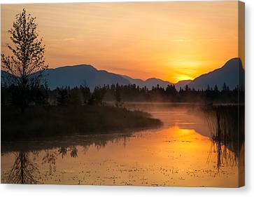Canvas Print featuring the photograph Morning Has Broken by Jack Bell