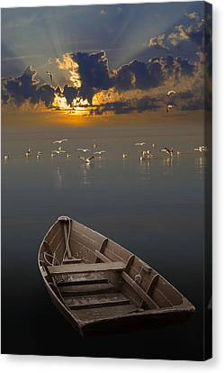 Morning Has Broken Like The First Morning Canvas Print by Randall Nyhof