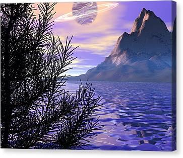 Morning Has Broken Canvas Print by Michele Wilson
