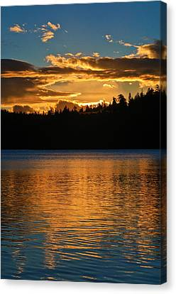 Canvas Print featuring the photograph Morning Has Broken by Sherri Meyer