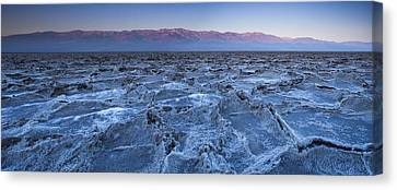 Panamint Valley Canvas Print - Morning In Death Valley by Andrew Soundarajan
