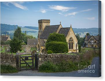 Morning In Snowshill Canvas Print by Brian Jannsen