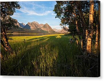 Canvas Print featuring the photograph Morning In The Mountains by Jack Bell