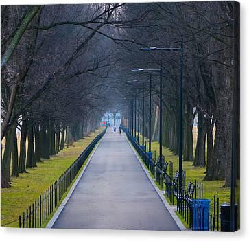 Morning In Washington D.c. Canvas Print