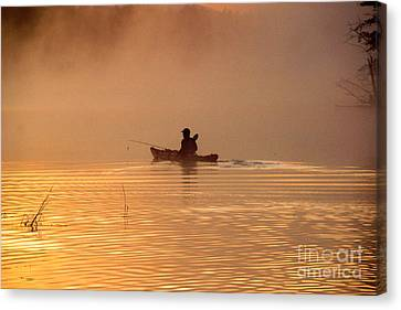 Morning Launch Canvas Print