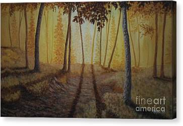 Morning Light Canvas Print by Andrew Lee