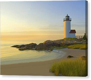 Morning Light Canvas Print by James Charles