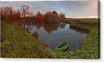 Morning Light Lenton Fishing Pond Canvas Print