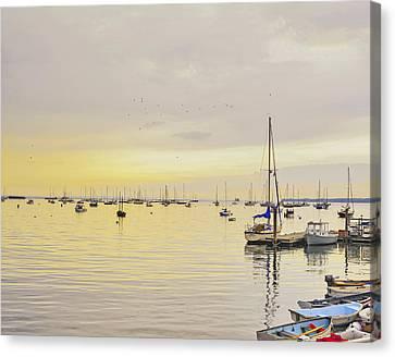 Morning Light Rockland Maine Canvas Print