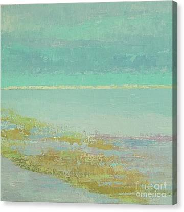 Morning Low Tide Canvas Print by Gail Kent