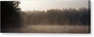 Morning Mist Adirondack State Park Old Canvas Print by Panoramic Images