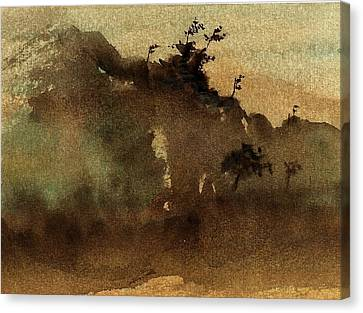 Morning Mist Canvas Print by Richard Hinger