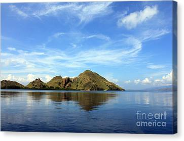 Morning On Komodo Canvas Print by Sergey Lukashin