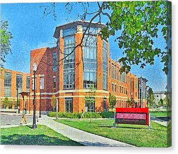 Student Union. The Ohio State University Canvas Print