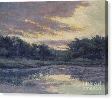 Morning On The Marsh / Wellfleet Canvas Print by Gregory Arnett