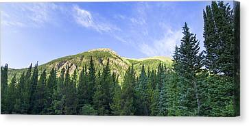 Morning On The Mountain Canvas Print