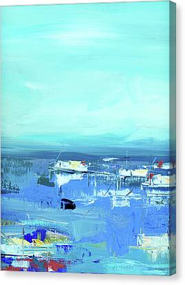 Morning On The Water Canvas Print by Pamela J. Wingard
