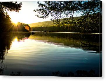 Morning Peace Canvas Print by Jahred Allen
