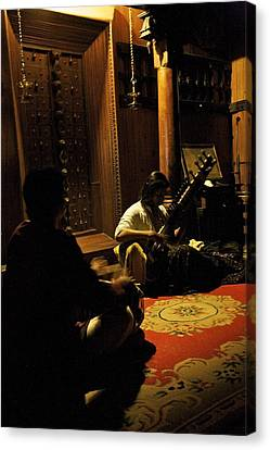 Morning Ragas Canvas Print by Lee Stickels