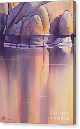 Morning Reflection Canvas Print by Robert Hooper
