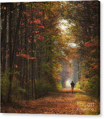 Morning Run Canvas Print