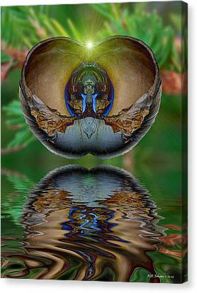 Morning Shell Canvas Print by WB Johnston
