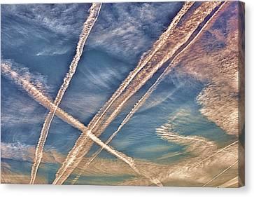 Morning Sky Canvas Print by J Riley Johnson