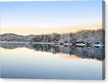 Morning Snowfall Canvas Print