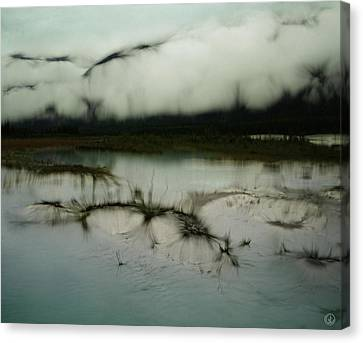 Morning Stillness Canvas Print by Gun Legler