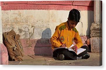 Morning Studies - Jabalpur India Canvas Print